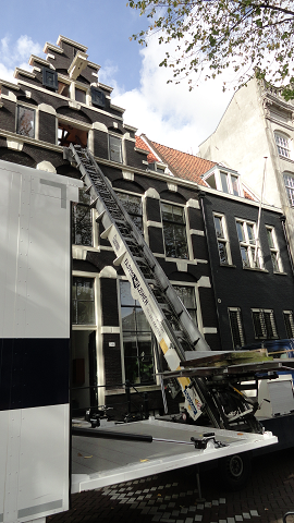 Moving in Amsterdam