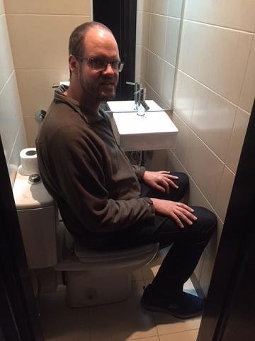 Toilet Hotel Belgrade