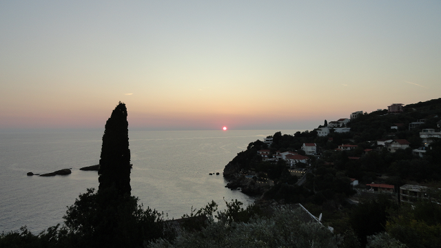 Sunset in Ulcinj
