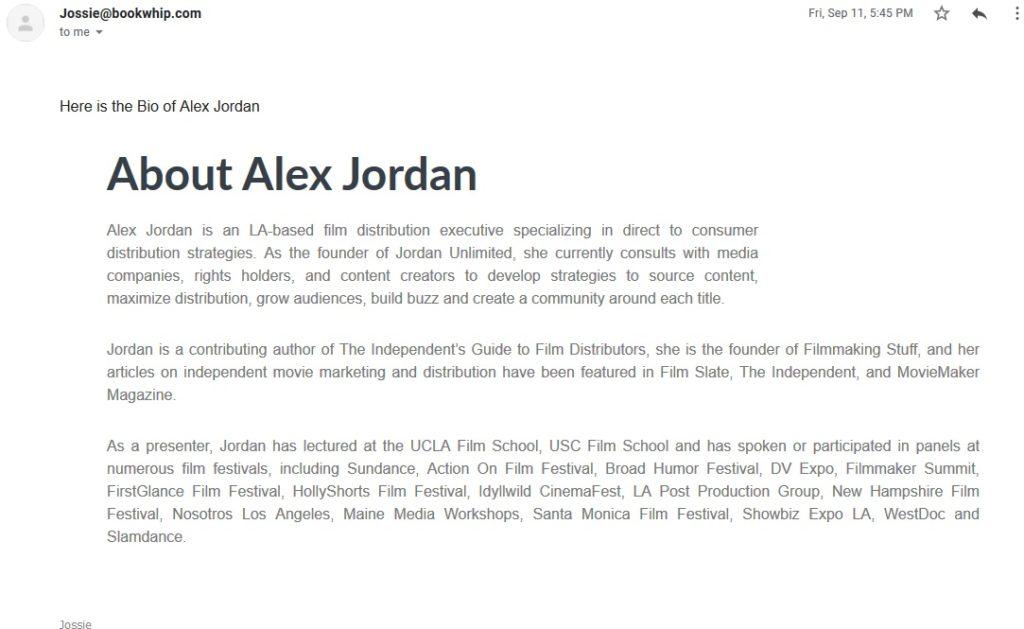 Alex Jordan bio